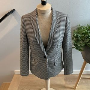Express houndstooth women's Blazer